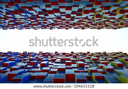 abstract background with a field for text
