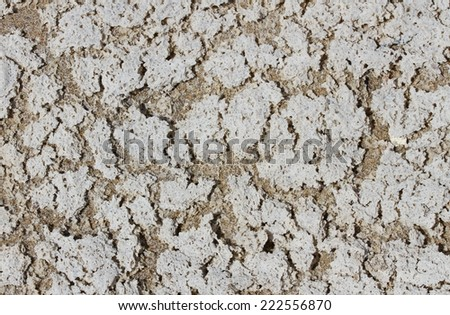 abstract background with beach sand and salt - stock photo