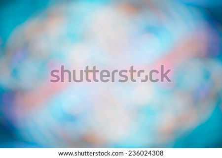 abstract background with blue defocused lights and shadow - stock photo