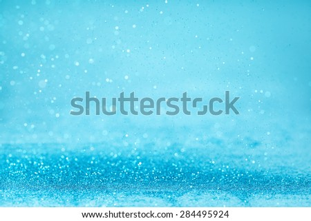 abstract background with blue twinkle - stock photo