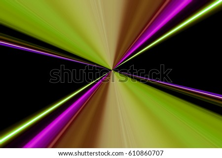 abstract background with blurred light lines