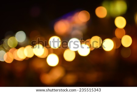Abstract Background with bokeh,defocued light