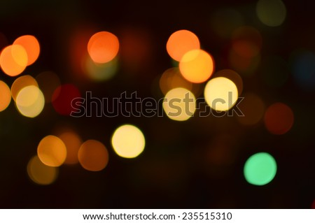 Abstract Background with bokeh,defocused light