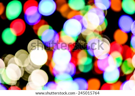 abstract background with bokeh defocused lights and bright bokeh - stock photo