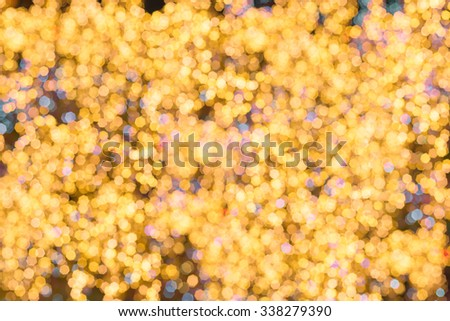 abstract background with bokeh lights on bright colors - stock photo
