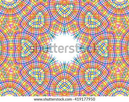Abstract background with bright color pattern - stock photo