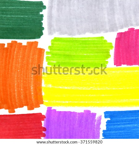 Abstract background with bright color spots for design - stock photo