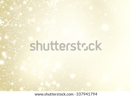 Abstract Background with Christmas Glitter Defocused Bokeh,  Blinking Stars and snowflakes. Blurred Soft colored   - stock photo