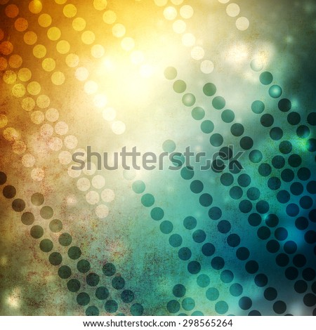 Abstract background with circles - stock photo