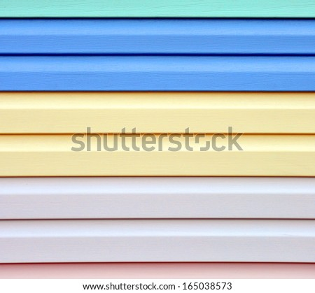 abstract background with colored planks