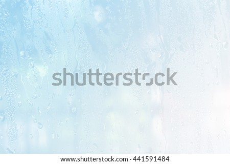 Abstract background with drops .Water drops on glass. - stock photo