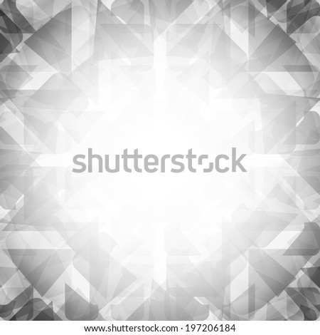 abstract background with geometric shapes - stock photo