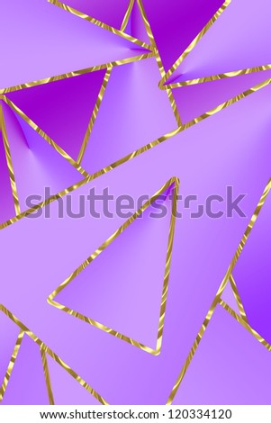 abstract background with geometry