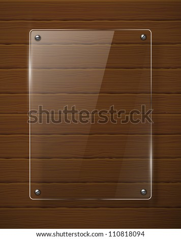 Abstract  background with glass framework. Jpeg version. - stock photo
