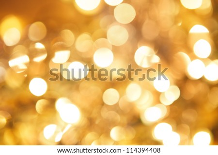 abstract background with golden twinkle - stock photo