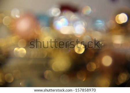 abstract background with golden twinkle,bokeh background concept. - stock photo
