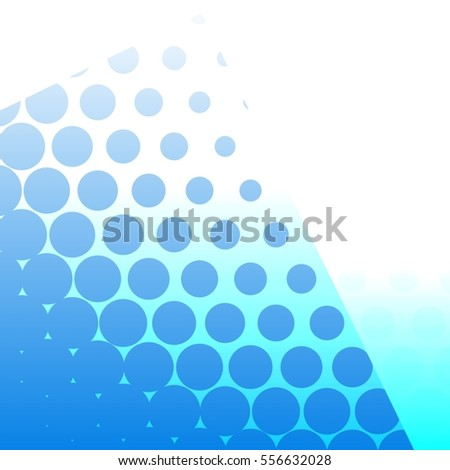 Abstract background with gradient dots
