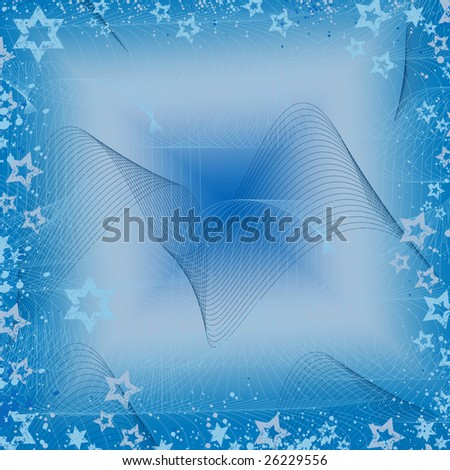 abstract background with grunge stars