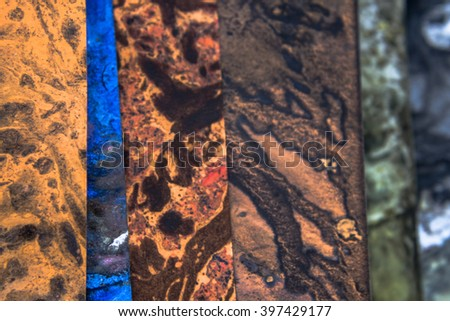 Abstract background with liquid paint. Marble texture.Collage. Grunge backdrop.(image with shallow depth of field)