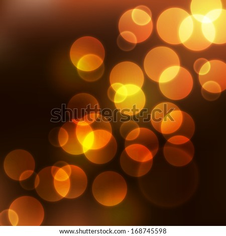 Abstract background with many circles
