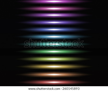 Abstract background with multi-colored horizontal lines