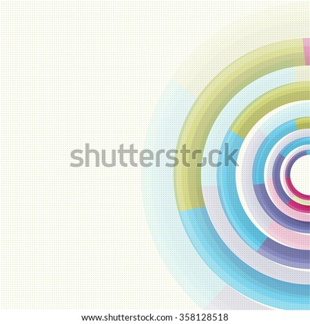 Abstract background with multicolored swirling backdrop. - stock photo