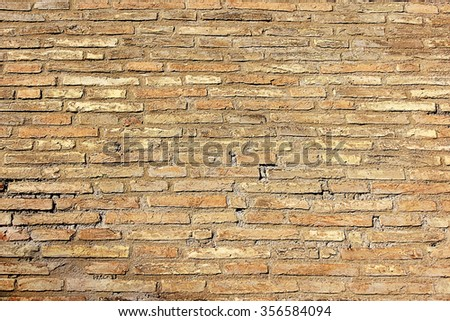 abstract background with old brick wall - stock photo