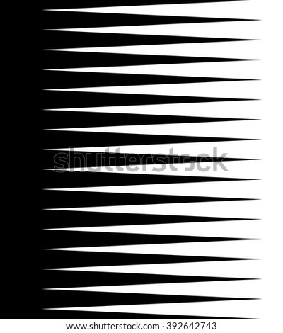 Abstract background with pointed lines. Vertically repeatable.