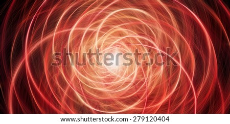 Abstract background with red glowing circles