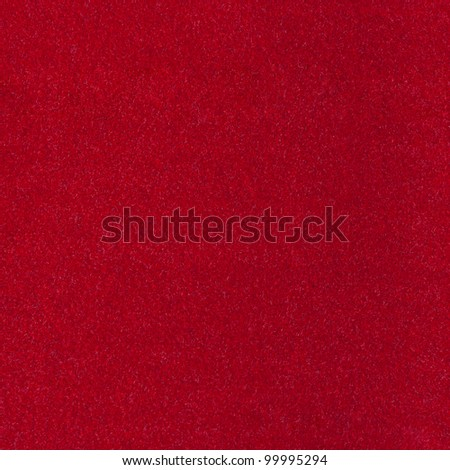 Abstract background with red texture, velvet fabric, full frame, close-up - stock photo