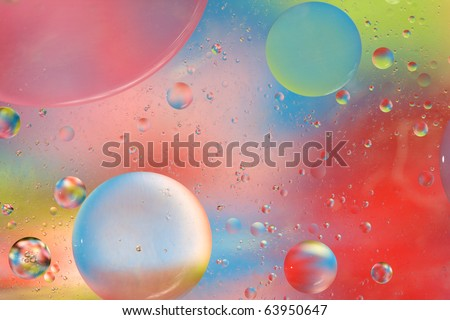 Abstract Background with soothing mix of complementary colors. Entirely captured  in camera - not Photoshop or render! You will love this high quality photograph!