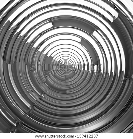 Abstract background with spiral elements