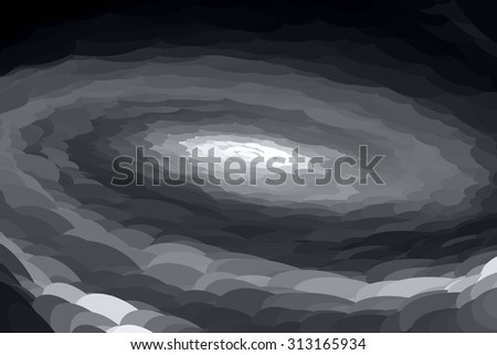 Abstract background with spiral movement. Raster version - stock photo