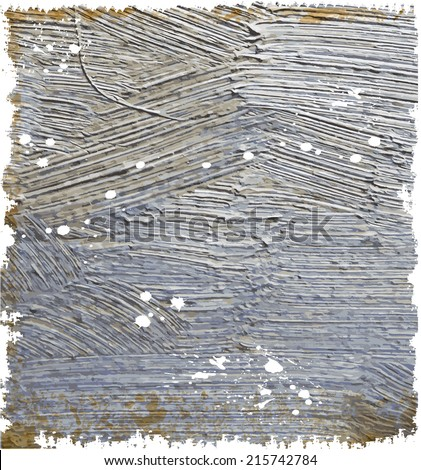 Abstract background with splashes. Oil paints texture - stock photo