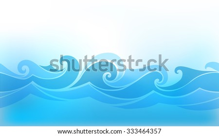 abstract background with stylized wave