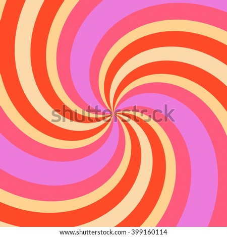 Abstract background with swirl color rays