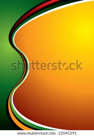 abstract background with warm colours and room for your own text