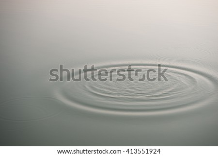 abstract background with water ripple in the morning
