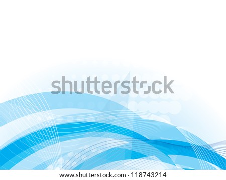 abstract background with wave - stock photo