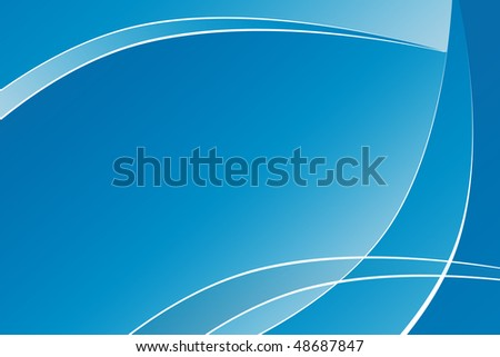 Abstract background with wave shapes