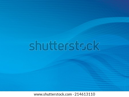 Abstract background with wavelet line