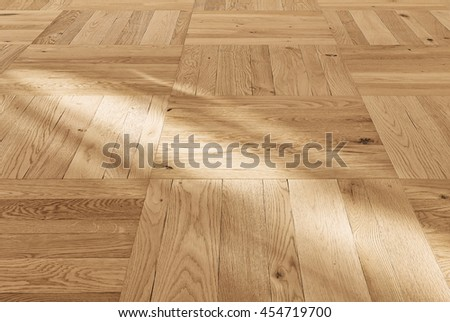 Abstract background wooden floor boards close up