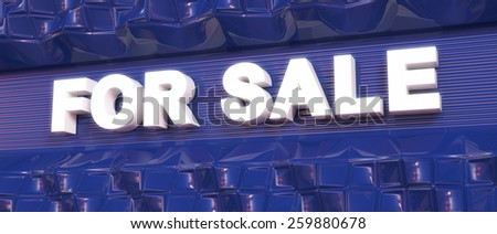 Abstract background. Word concept. Text for sale. 3d render. - stock photo