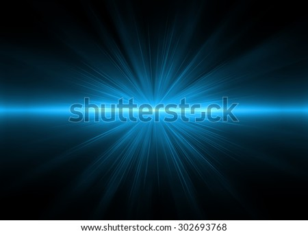 Abstract backgrounds blue lights (super high resolution) - stock photo