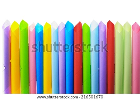 Abstract backgrounds superimposed together colors paper tubepaper tube texture  - stock photo