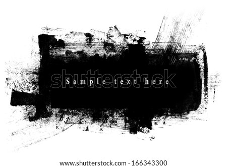 Abstract banner. - stock photo