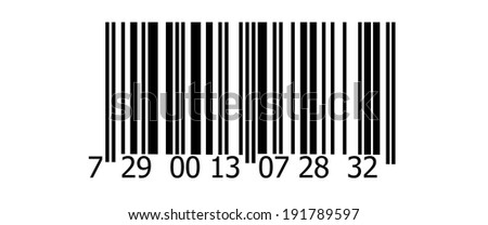 Abstract barcode security pattern background