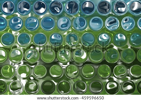 Abstract beautiful green and blue elegant background