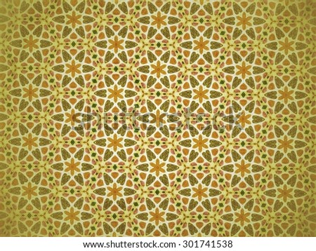 Abstract beautiful shapes pattern background vintage tone