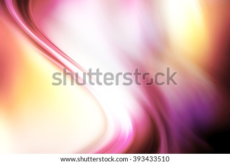 Abstract beautiful tint discolored background. Modern light wave digital illustration design . - stock photo